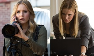 Kristen Bell wears a Baume & Mercier Linea in the 2014 film Veronica Mars.