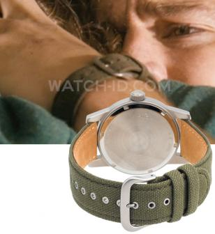 The Bulova 96A102 with green canvas strap watch worn by Channing Tatum.