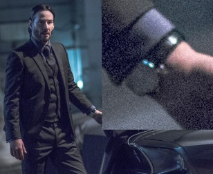 Keanu Reeves wears the Carl F. Bucherer Manero AutoDate in John Wick: Chapter 2 mostly under his wrist
