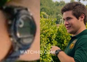 Adam DeVine wears a Casio W87H-1V sportswatch in Pitch Perfect 2.
