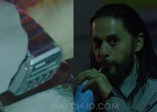 It looks like Jared Leto wears a Casio CA-506-1 calculator watch in The Little Things.
