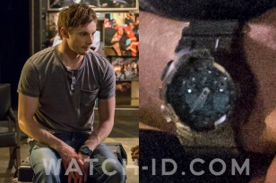 Bradley James wears a Casio G-Shock GA100 in Damien.