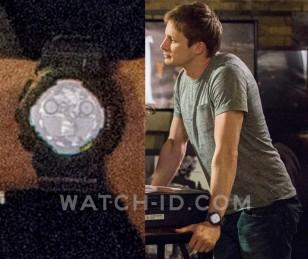 Bradley James as Damien wears a Casio G-Shock GA100 in Damien.