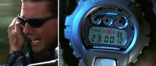 The face of the Casio G-Shock DW6900-1V worn by Tom Cruise in Mission: Impossibl