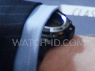 The Casio SGW300H-1AV can just be spotted under the sleeve of Jack Ryan (Chris P