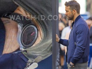 Ryan Reynolds wears a Chopard Mille Miglia GTS Power Control Grigio Speciale in the 2019 Michael Bay movie 6 Underground.