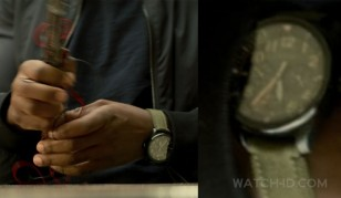 Anthony Mackie wears a Citizen Chandler BU2055-16E watch in the Marvel series The Falcon and The Winter Soldier.