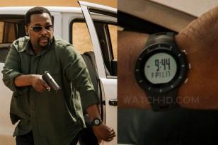 Wendell Pierce wears a large digital watch in the Amazon Prime series Jack Ryan.