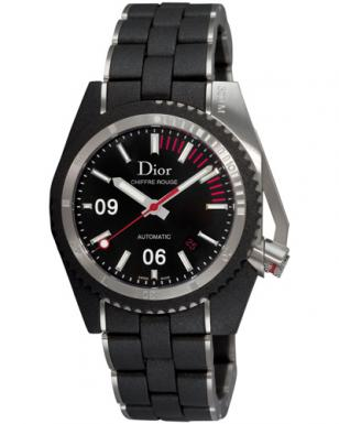 Christian Dior Homme Chiffre Rouge D02 diver watch, modelnumber CD085540R001.
