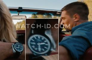 In the movie This Means War, Tom Hardy wears a Dior Homme Chiffre Rouge D02 watc