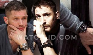Tom Hardy wearing the Dior Homme Chiffre Rouge on several other occasions.