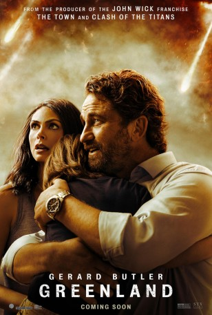 The Festina Sport F20361/4 watch is also visible on Gerard Butler's wrist on the poster for the movie Greenland.