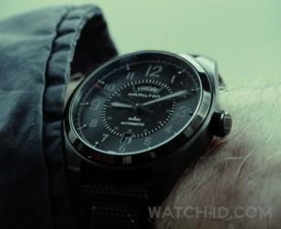 Anson Mount wears a Hamilton Khaki Field Day Date Auto watch in the movie The Virtuoso.