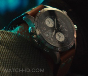 Pilot Jake Morrison (played by Liam Hemsworth) wears a Hamilton Khaki X-Wind Auto Chrono in the 2016 film Independence Day: Resurgence.
