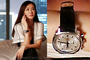Lynn Hung wears a Heuer Camaro watch in the action film S.M.A.R.T. Chase