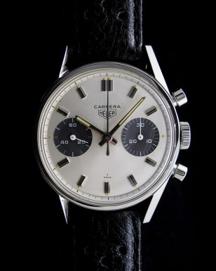 Heuer Carrera 7753SN with racing strap