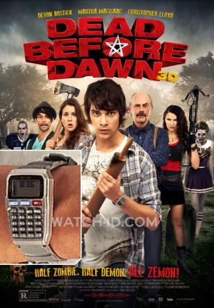 The grey calculator watch KK628 can clearly be seen on the movie Dead Before Daw