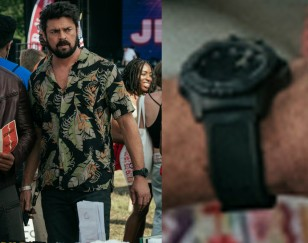 Karl Urban wears a Luminox Navy SEAL 3501.BO watch in the Amazon tv series The Boys.