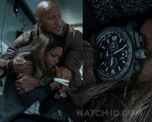 Dwayne Johnson wears a MTM Special Ops Cobra watch in the movie Rampage.