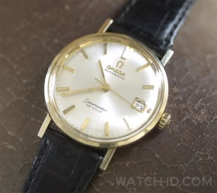This is the actual watch, Henry Golding's own watch that he wore in the film. Shown here during a GQ interview.