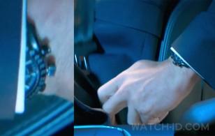 It looks like Ryan Reynolds is wearing his Omega Speedmaster Dark Side of the Moon Watch 311.92.44.51.01.003 in the movie Hitman's Wife's Bodyguard