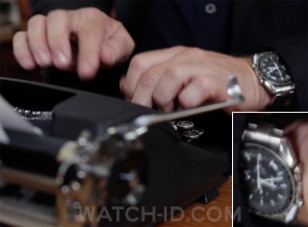 Tom Hanks wears an Omega Speedmaster in the documentary California Typewriter.