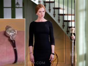 Nicole Kidman wearing a vintage Omega watch in Stoker