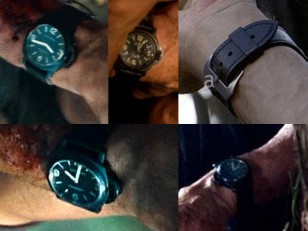 In these screenshots, Sylvester Stallone seems to wear a different Panerai, possibly the PAM0009, in Rambo (2008)