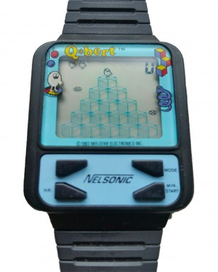 Qbert Nelsonic Game Watch