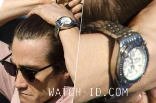 The Breitling Chronomat watch worn by Jake Gyllenhaal in the movie Nightcrawler