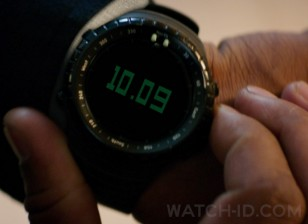 Denzel Washington uses a Suunto Core All Black SS014279010 watch in The Equalizer 2