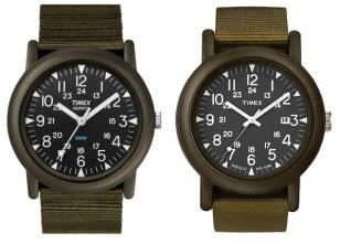 Compare these two Timex Originals Camper watches, with slight differences in the