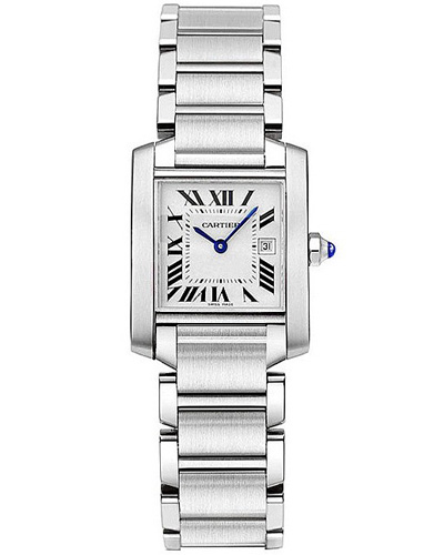 Cartier Tank Francaise - Michelle Obama | Watch ID Mark Wahlberg