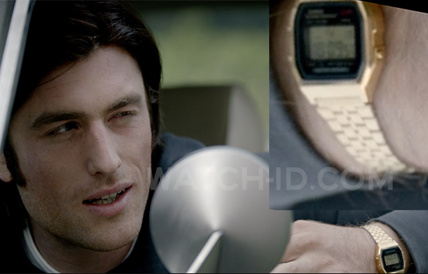 James Frecheville wears a gold Casio A159WGEA-1VT in the 2016 thriller I.T.