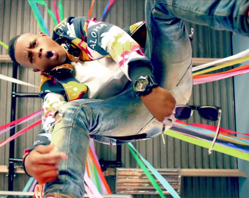 Silentó wears a Casio G-Shock GA110GB-1A in his music video for Watch Me (Whip/Nae Nae).