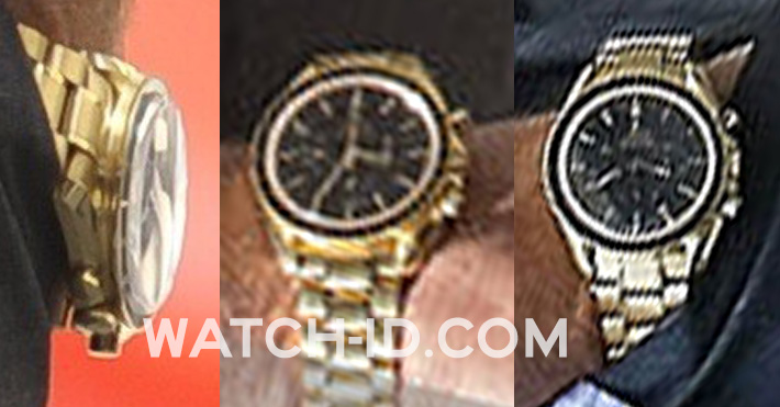George Clooney wears an Omega Speedmaster Professional Moon Watch 25th Anniversary Apollo-Soyuz special edition in Money Monster.