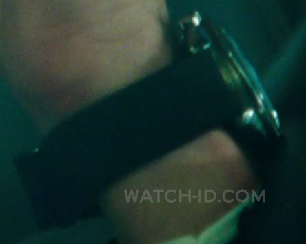 The watch in the film seems to have a black NATO strap