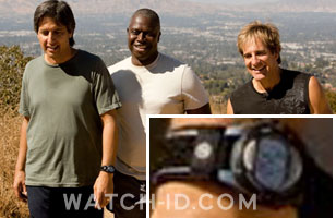 Ray Romano wearing the Timex Expedition watch in Men of a Certain Age