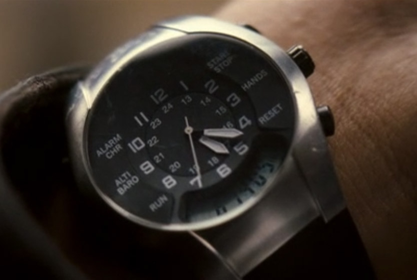 Victorinox Swiss Army ST 4000 chrono worn by Will Smith in I Am Legend, note the