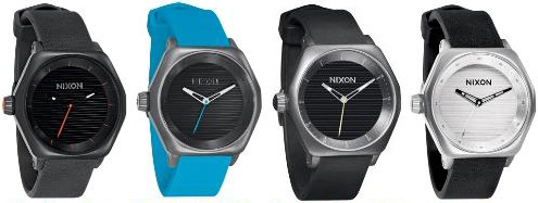 This watch used to be available in 4 colours, All Black, All Gunmetal/Sky Blue,