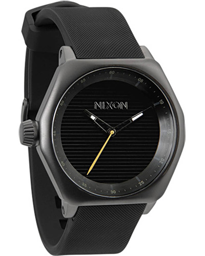 Nixon Fader, all-gunmetal/black