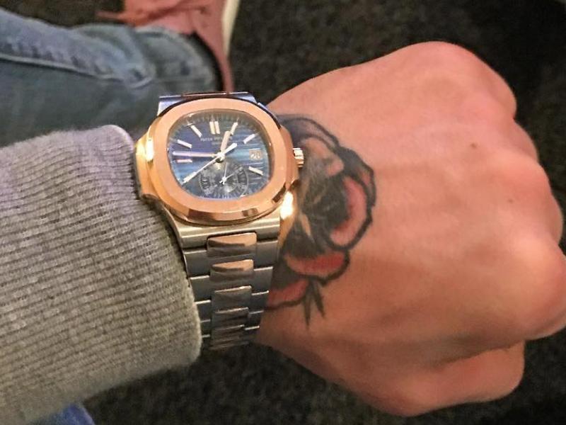Patek Philippe Nautilus Conor McGregor Watch ID