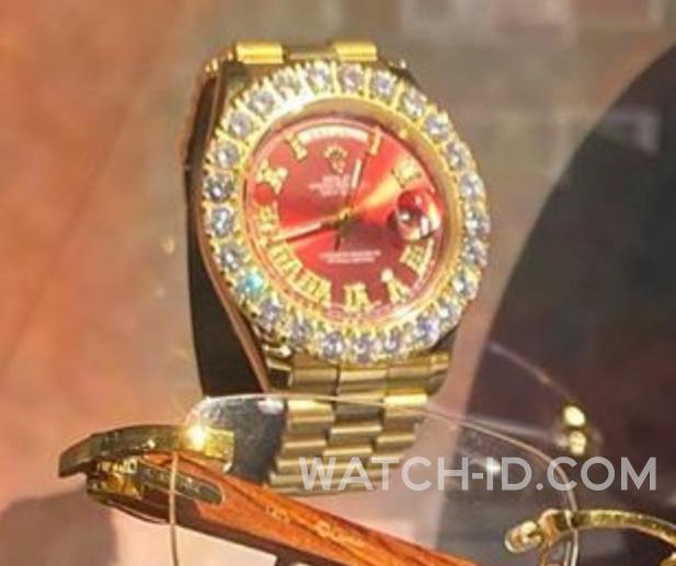 Rolex Day Date Adam Sandler Uncut Gems Watch Id